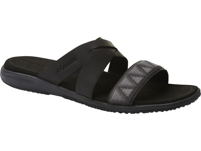 Columbia Solana Slide Sandals Women black/shark